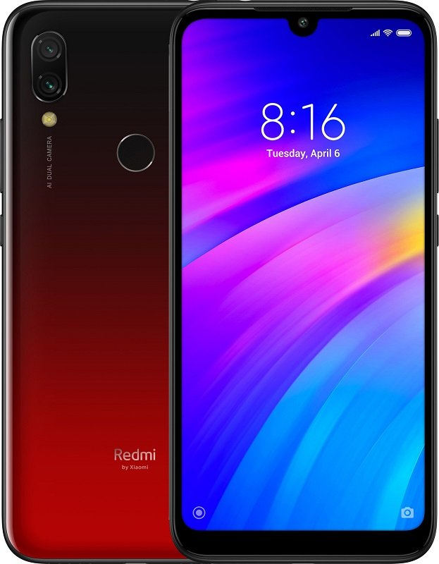 Xiaomi Redmi 7 2GB+16GB (EU Global) (Красный)