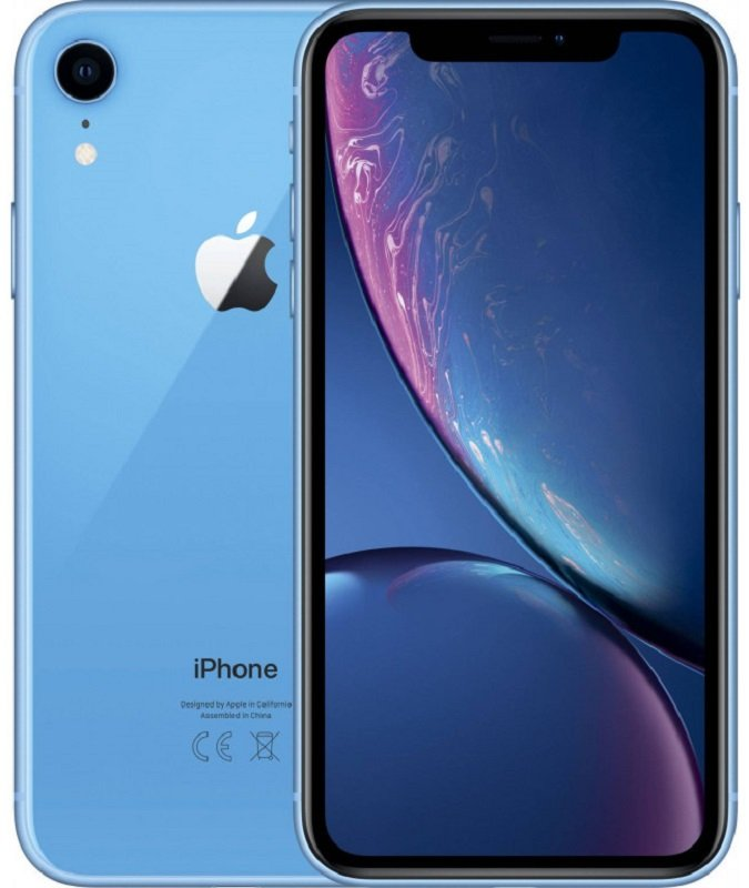 Apple iPhone XR 128GB (Синий) (РСТ)