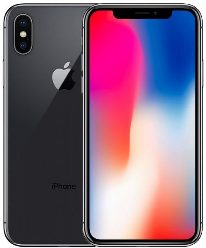 Apple iPhone X 256GB (Серый космос)