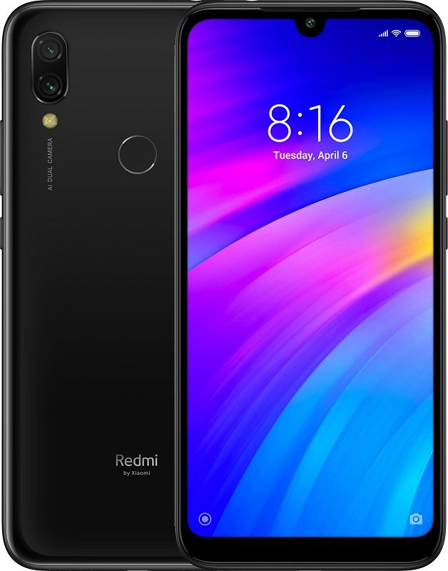 Xiaomi Redmi 7 3GB+64GB (EU Global) (Черный)