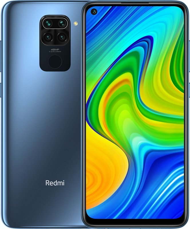 Xiaomi Redmi Note 9 4/128GB (NFC) (Серый)