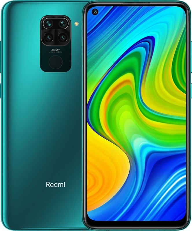 Xiaomi Redmi Note 9 3/64GB (NFC) (Зеленый)